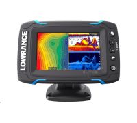 Lowrance Elite-5Ti Mid/High/TotalScan™